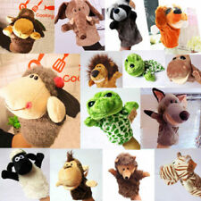 Cute Cartoon Animal Glove Hand Puppet Doll Soft Plush Toys Story Telling-NEW