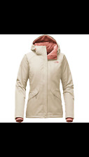 The North Face Women's Boundary Triclimate Jacket Vintage White/Doeskin Brown