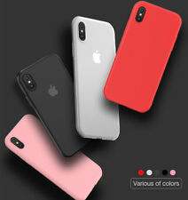 0.6mm For iPhone X Case Phone Case Comfortable Ultra-thin Soft Case Matte TPU