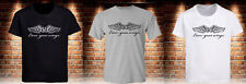 BMX GT Bicycle Earn Your Wing Black T-Shirt Grey White Men's Tee