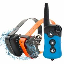 Waterproof 900ft Remote Electric Shock Collar Rechargeable Dog Training Collar
