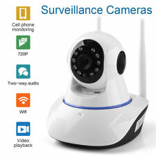 Dual Antenna 720P Wireless WiFi IP Camera Security Network CCTV IR Night Vision