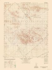Topographic Map - Alvord Mountains California Sheet - Army  1948 - 23 x 30.96