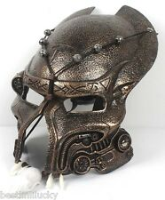 Alien vs Predator AVP Mask Halloween party Movie Memorabilia Prop silver bronze