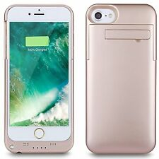 External Power Charger Battery Backup Bank  Pack Case Cover for Apple iPhone 8 7
