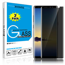 2 Pcs Privacy Anti-Spy Tempered Glass Screen Protector For Samsung Galaxy Note 8