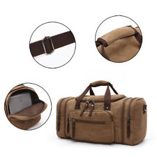 1 Pcs Canvas Travel Bags Carry on Luggage Bags Men Duffel Bag Large Weekend Bag