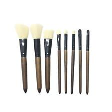 8pcs Pro Retro Handle Cosmetic Set Powder Eyeshadow Lip Makeup Brushes Kits