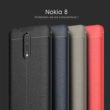 For Nokia 6/8/5 Slim Shockproof Matte Hybrid Silicone Skin Soft Phone Case Cover