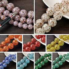 Lot Bulk 3/10pcs 20mm Round Lampwork Glass Loose Spacer Beads Jewelry Making