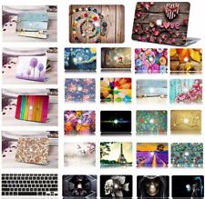 """Hard Case Shell+Rubberized Keyboard Cover Macbook Pro Air 11 13 15""""White Macbook"""