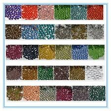 SS6-SS16 32 COLOR Crystal Iron On Hotfix Rhinestones Hot Fix Flatback stone #3