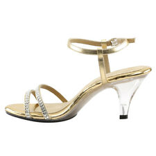 Fabulicious Belle-316Gift Women's Strappy Rhinestone Ankle Strap Party Sandal