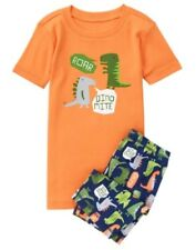 GYMBOREE SLEEPWEAR DINOSAUR Dino Mite 2pc BOYS PAJAMAS GYMMIES 18 24 NWT