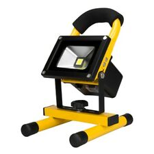 Rechargeable 10W LED Outdoor Flood Light Driveway Security Emergency Floodlight