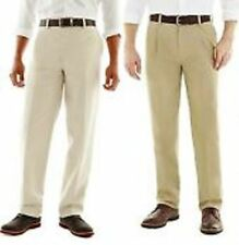 NWT ST JOHNS BAY  Worry Free Classic Flat Front  Chino Pants Multi Size & colors