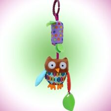 Baby Cute Hanging Bell Animal Fabric Soft Bed Stroller Plush Dolls Musical