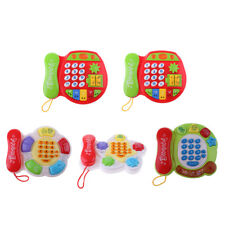 MagiDeal Musical Phone Cognition Puzzle Game Intellectual Developmental Baby Toy