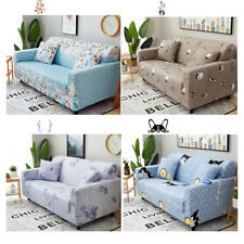All Inclusive Pastoral Style Polyester Couch Cushion Sofa Cover Flower Slipcover