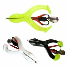 Frog Shape Outdoor Fishing Lures Fishhook Artificial Fish Bait Hook Tackle