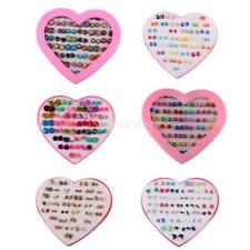 36 Pairs Mixed Cute Style Earring Set Lady Girls Fancy Colorful Ear Stud Jewelry