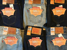 Levis 501 Jeans Button Fly Mens Jeans (NWT) New W/ Tags