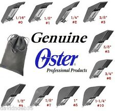 OSTER A5 A6 Blade GUIDE Snap Clip On COMB*Also Fit Most Andis,Wahl,Laube Clipper