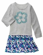 NWT Gymboree Butterfly Garden Flower Sweater Dress Girls 4,5,6,8,10 Girls