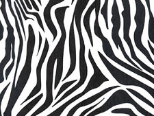 "ZEBRA STRIPED Tissue Paper for Gift Wrapping 20""x30"" Sheets Animal Print Safari"