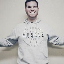 Men's Gym Workout Long Sleeve Hoodies Sports Pullover Casual Hooded Sweatshirts