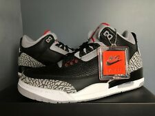 2018 DS Nike Air Jordan Retro 3 Black Cement 854262-001 Size 4Y-14 PRE ORDER