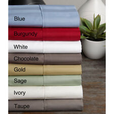 1000 TC Egyptian Cotton Bedding Item Extra Deep Pocket New Striped Color Full XL
