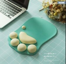 3D Mouse Pad Soft Silicone Cat Paw shape Wrist Rest Comfort Cushions Kids Gaming