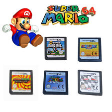 New Super Mario Bros Kart Party 64 Luigi Game Card For Nintendo NDS 3DS DSI