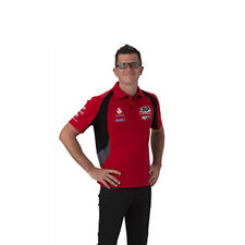 HOLDEN RACING TEAM HRT MENS TEAM POLO TOP RED V8SUPERCARS SIZES S & M ONLY