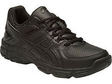 NEW Asics GEL 540 TR GS Black Leather Boys Running Shoes from The Village Sport