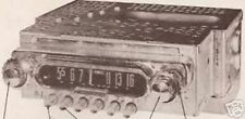 1952 FORD 0CF751-1 RADIO SERVICE MANUAL schematic photofact 1A-18805-D -G auto