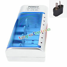 For C D Size AA AAA 9V Ni-MH Ni-CD Battery Charger Rechargeable Batteries