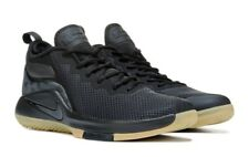 NIKE MENS LEBRON WITNESS II BLACK GUM BASKETBALL SHOES **FREE POST AUSTRALIA