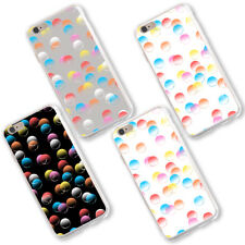Colorful Bubbles Printed Phone Case for iPhone X 8 Samsung S8 Huawei P9 Flowery
