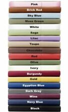 Queen 1000TC Egyptian Cotton Sheet Set/Duvet/Fitted/Pillow Bright Solid Colors