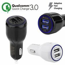 QC3.0 USB Car Charger Qualcomm Quick Charge Adapter For Samsung HTC LG