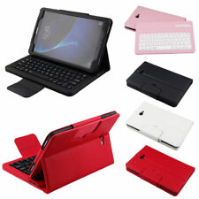 Wireless Bluetooth Keyboard Leather Case Cover For 7 8 Samsung Galaxy Tab Tablet