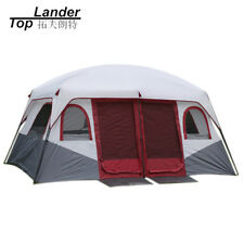 Large Family Camping Tents Waterproof Cabin Outdoor Tent for 8 10 12 Person tent
