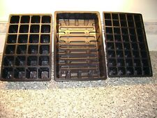 2-TO-50-FULL-SIZE-SEED-TRAYS-AND-24-or-40-CELL-INSERTS MULTI LISTING YOU CHOOSE