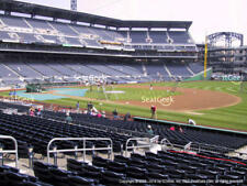 2 tickets Pirates vs Reds SATURDAY 4/7 Section 107 Row C - PNC PARK