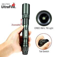 Ultrafire Zoomable CREE XML T6 20000 LM LED Flashlight 18650 Battery Torch  GA