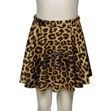 Leopard Animal Print Circular Dance Ballet Pull On Skirt Katz Dancewear KDSK01