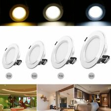 3W 5W 7W 9W CREE LED Recessed Ceiling Panel Down Light Cabinet Lamp w/ Driver CA