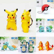 NEW Pokémon Pokemon Pikachu Light Up LED Torch With sound KeyChain Keychain US